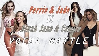 Perrie and Jade (LM) VS. Camila and Dinah Jane (5H) - Vocals Battle