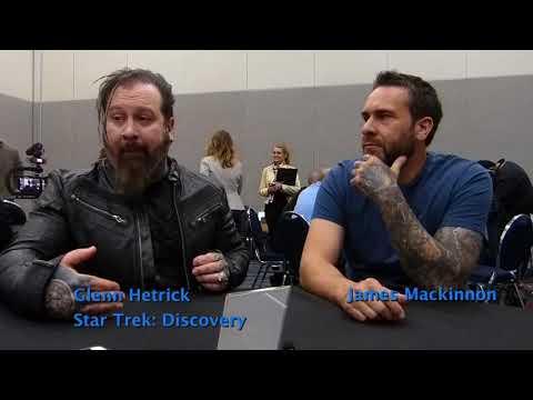 Star Trek: Discovery  WonderCon  Glenn Hetrick & James Mackinnon  Special FX Makeup