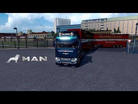 ETS2 1.28 - Promods 2.18 - MAN TGX - Bergen to Amsterdam