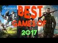 BEST 5 GAMES OF 2017