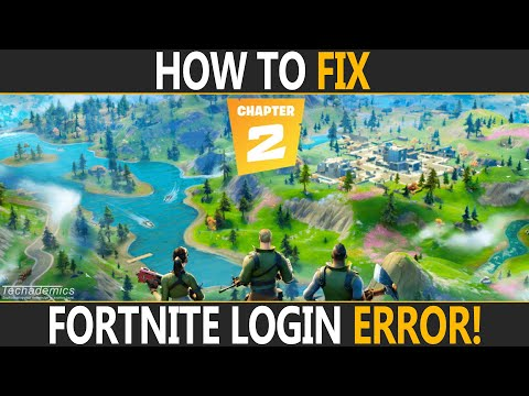 How To FIX Login Failed On Fortnite PC | Fortnite Error Logging In