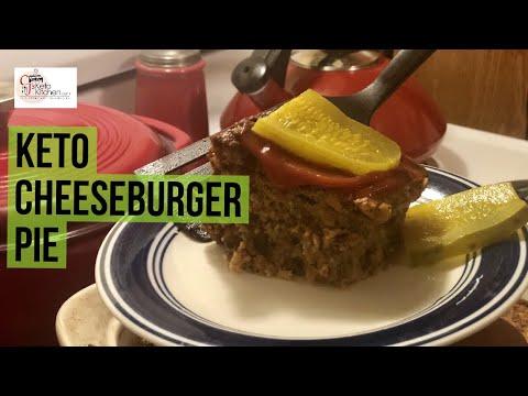 savory-keto-cheeseburger-pie- -low-carb-#keto-#ketorecipes