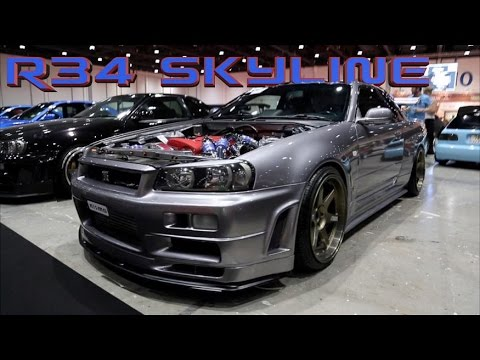 Nissan Gtr Custom >> Nissan R34 Skyline HEAVEN - Left Hand Drive! - YouTube