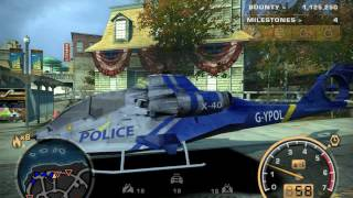 NFSMW: Final Pursuit on police helicopter