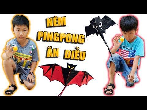 Tony | Chơi Ping Pong Ăn Diều Cá Mập - Throw Ball Get KITE