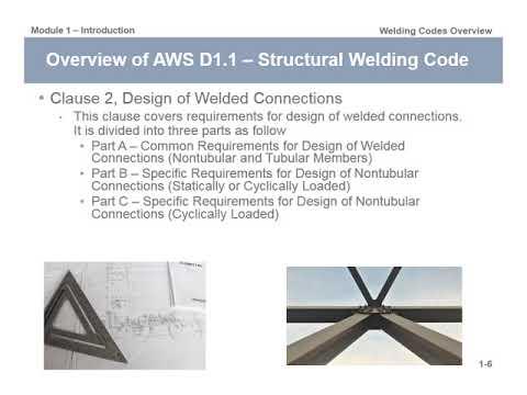 AWS D1.1 Introduction