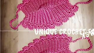 How to Crochet a face mask Tutorial for beginners easy and simple DIY