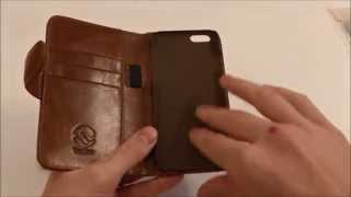 iPhone 6 Tuff Luv Vintage Leather Case Review