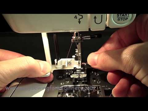 How To Thread Janome Sewing Machine