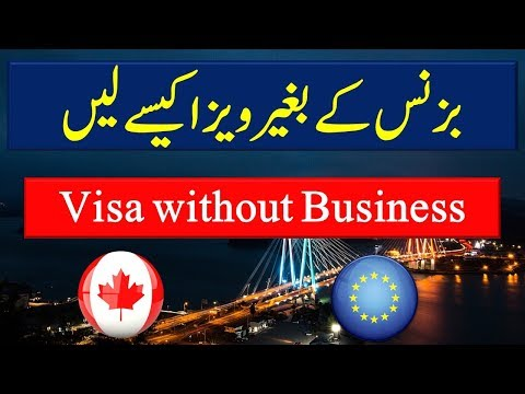 How to Get Canada Business Visa without having Business.