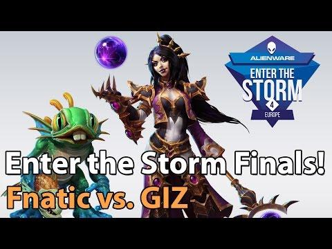 ► Heroes of the Storm Pro Gameplay: Fnatic vs. GIZ - ETS EU Finals