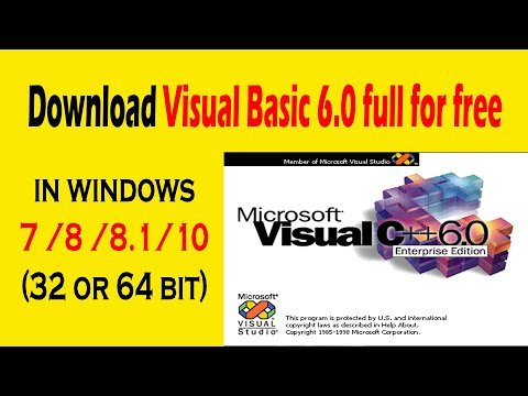 How To Download Visual Basic 6.0 In Windows 10/8/8.1/7 | How To Download Visual Basic 6.0 Full
