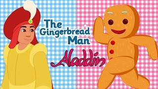 The Gingerbread Man & Aladdin and the Magic Lamp Full Movie - English Fairy Tales For Kids