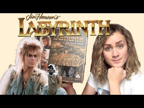 Jim Henson's The Labyrinth Board Game Review!