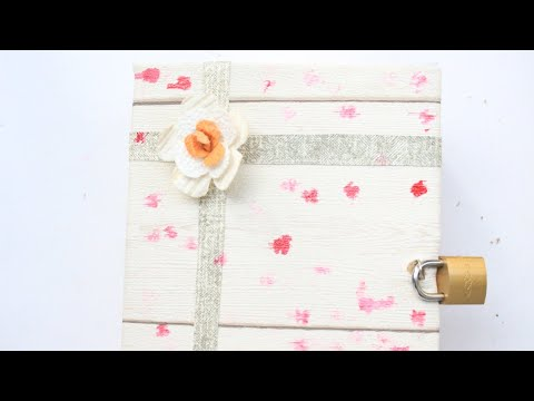 DIY Book Box Secret Storage|How to make secret box | Secret box making | All in one