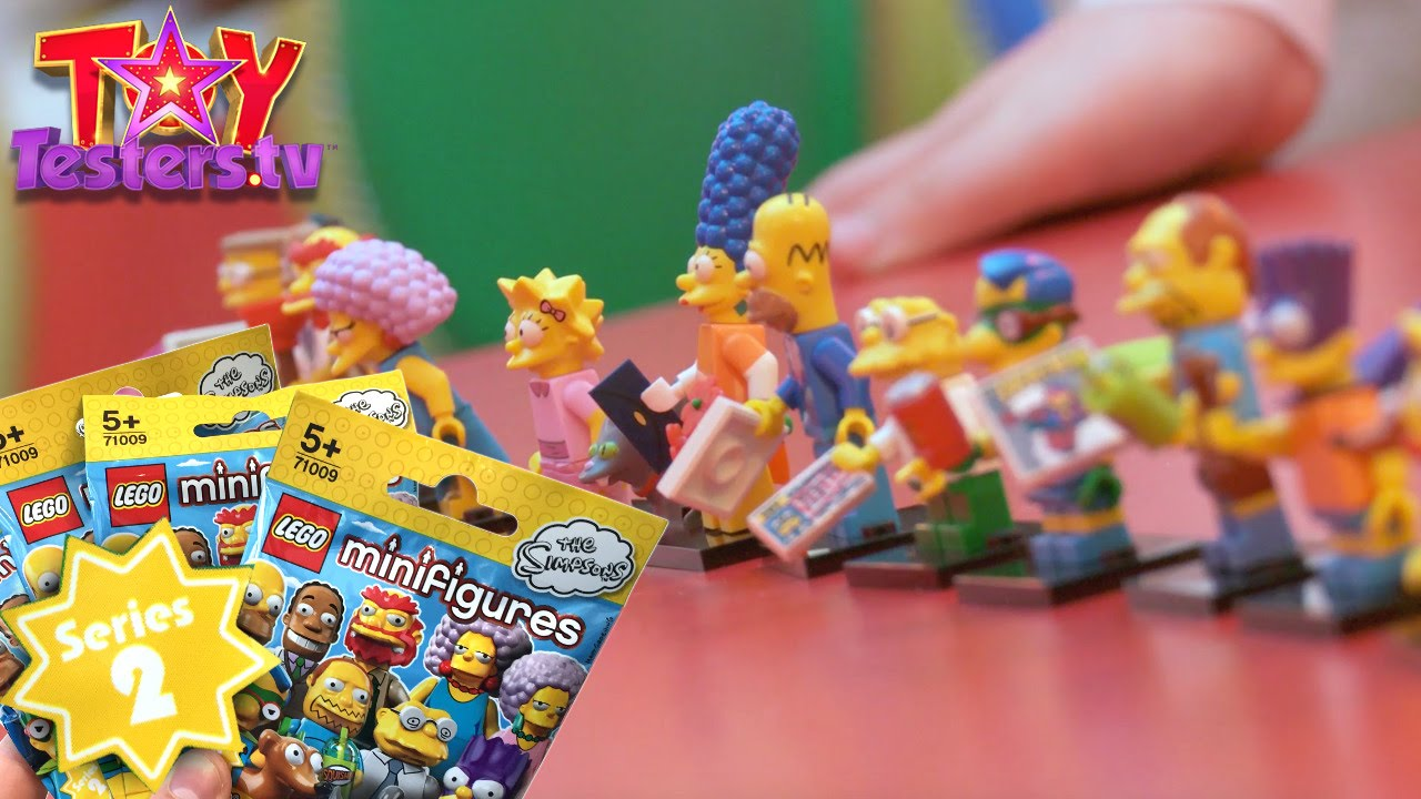 Lego mini figure the Simpsons series 2 Marge Simpson complete
