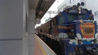 【2018/4/27】韓国観光列車S-train順天(スンチョン)駅出発【純粋編成】【2K】