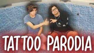 Rauw Alejandro & Camilo - Tattoo Remix (PARODIA)