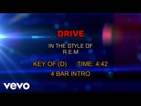 R.E.M. - Drive (Karaoke)