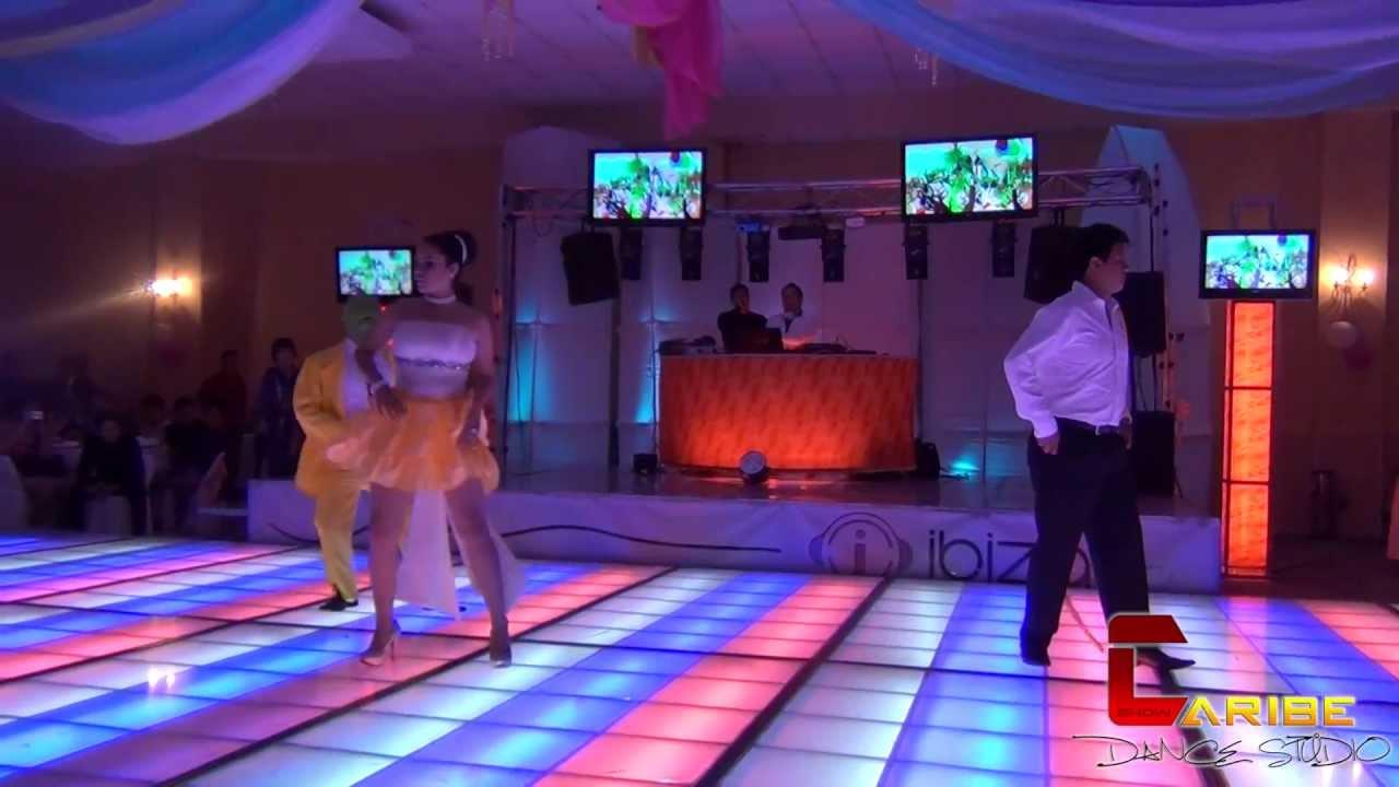 Caribe dance studio presentacion de xv a os en sal n santa for Academy salon santa clara