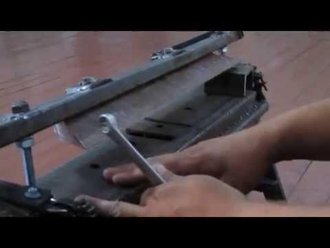 станок своими руками для холодной ковки - YouTube
