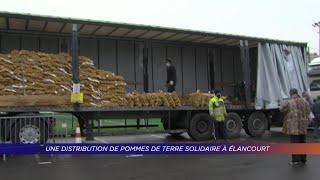Yvelines | Une distribution de pommes de terre solidaire à Elancourt