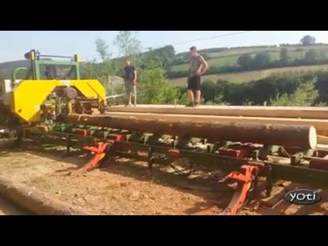 Unimaginable forestry, woodworking gear (Prt1)