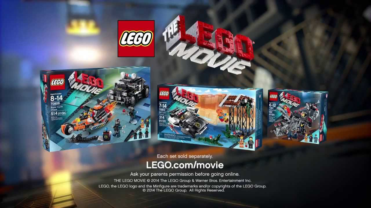 2014 The Lego Movie Super Cycle Chase Youtube