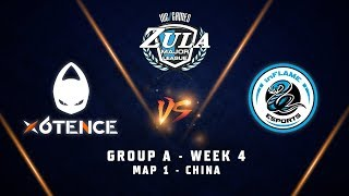 X6TENCE vs INFLAME ESPORTS   Map 1   Zula Europe ESL Major League   Group A - Week 4