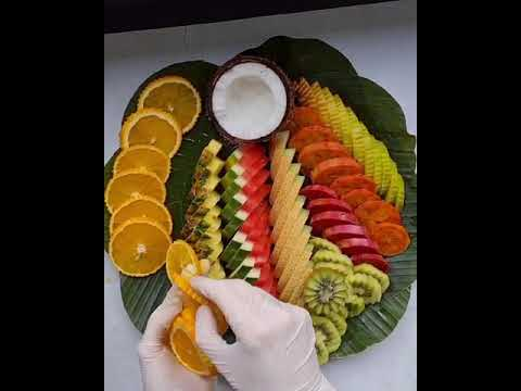 Fruit platter preparation- this is how we do it
