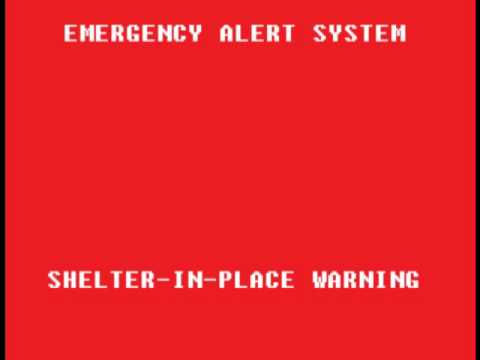 Shelter-In-Place Warning - Victoria, TX (Text is REAL)
