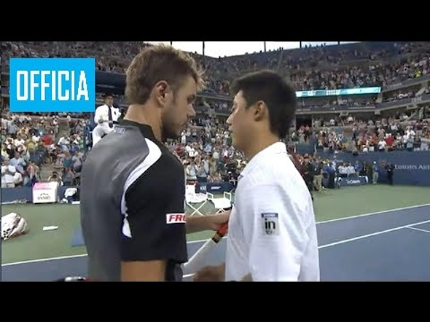 Kei Nishikori vs Stan Wawrinka US Open 2014 Quarter Final Highlights HD grigor