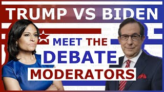 Debate Moderators for the 2020 Presidential Debates | QT Politics