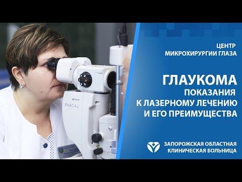 Глаукома. Лазерное лечение.