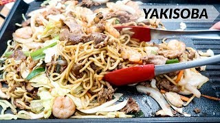 How to make Yakisoba at home (Tokyo Style!)