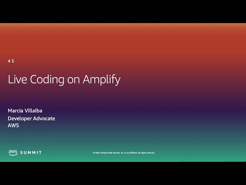 I Want to Read and Write Code - Live Coding on AWS Amplify (Level 400)