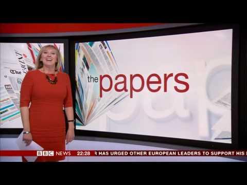 BBC News - Another camera fail .feat Martine Croxall