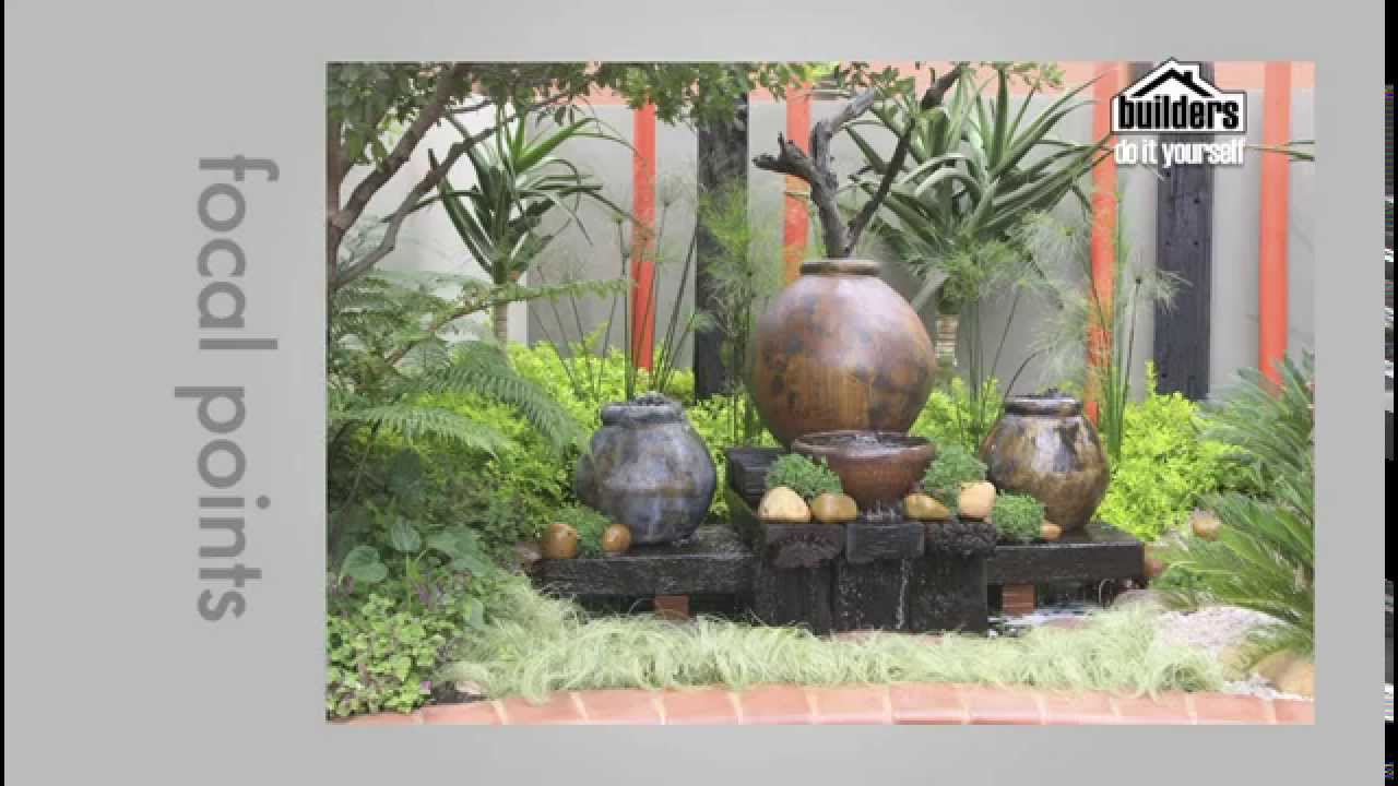Builders DIY: Designing Your Garden   Focal Points