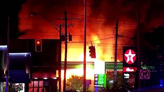 Atlanta protesters burn a Wendy's after police shooting
