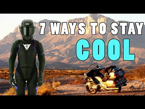 7 Ways to Stay Cool on a Motorcycle in Summer
