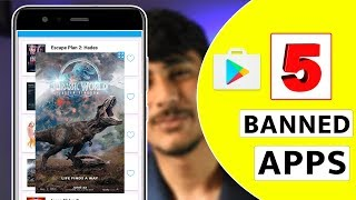 5 Banned Apps Not Available on playstore | in தமிழ் | You TECH TAMIL