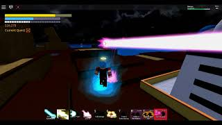 [ROBLOX] Dragon Ball Final Stand | Super Saiyan Rose Goku Black vs Super Saiyan Blue!