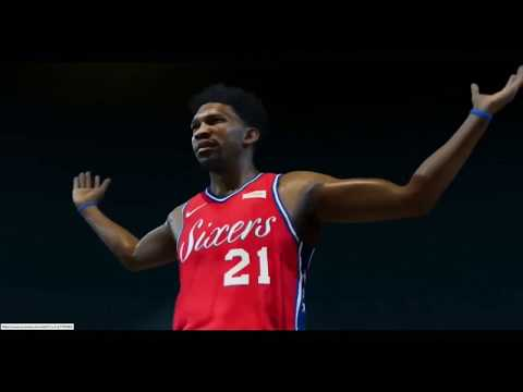 NBA Live 19 - First Ever Seen Game Intro Of Joel Embiid