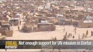 Not enough support for UN mission in Darfur