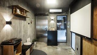 上海建築師夫婦教妳,如何從40平米小戶型偷更多空間