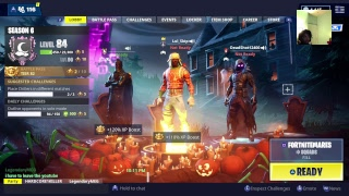 Fortnite saison 6 livestream (spooky team leader giveaway )
