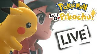 LIVE! SHINY HUNTING! POKEMON LET'S GO PIKACHU! + SHINY GIVEAWAYS!