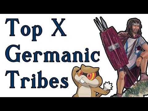 THE TOP TEN BEST GERMANIC TRIBES