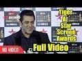 Salman Khan At Star Screen Awards 2018 Full Video Real Tiger At Star Screen Awards