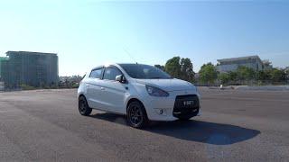 2013 Mitsubishi Mirage GS Start-Up, Full Vehicle Tour, and Test Drive